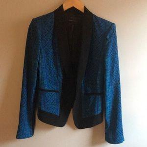 BCBG printed blazer